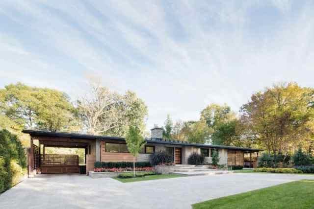 プレーリースタイルのアーキテクチャの詳細がカナダの家の改造を定義します(9)