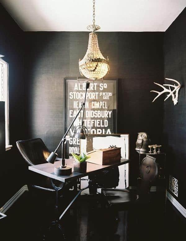 黒塗りの壁-25-1 Kindesign
