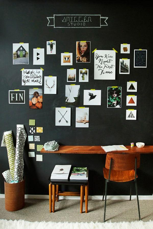 黒塗装の壁-40-1 Kindesign