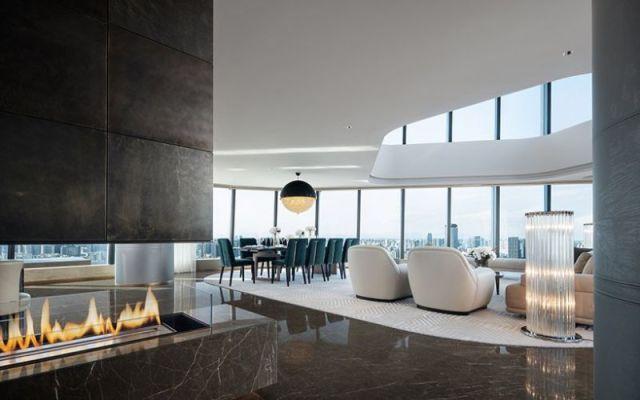 """モダンデザインラグジュアリーモダンデザインアボード–  """" FENDI Apartment""""  CCDによる設計CCD 3による設計の高級モダンアボードフェンディアパートメント"""