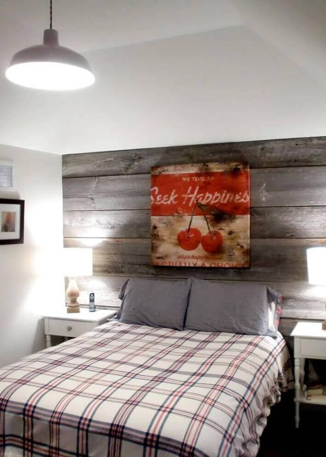 再生木材|  ベッドルームのインテリアデザイン