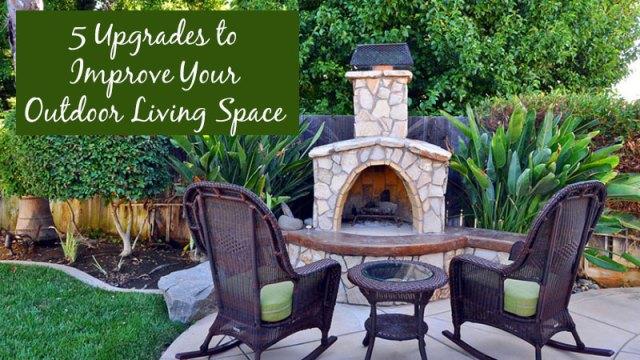 屋外生活空間を改善する5つのアップグレード
