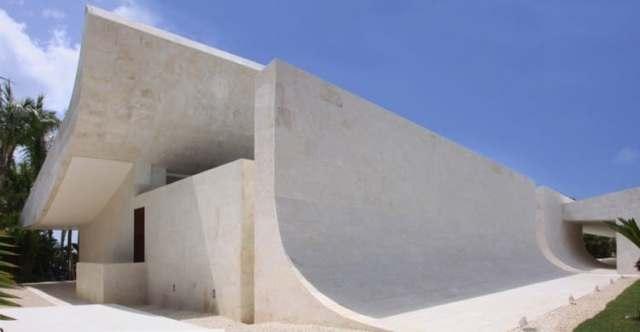 ドミニカ共和国のA-ceroによる大規模なコンクリートの家(2)
