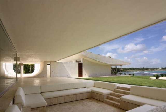 ドミニカ共和国のA-ceroによる大規模なコンクリートの家(25)