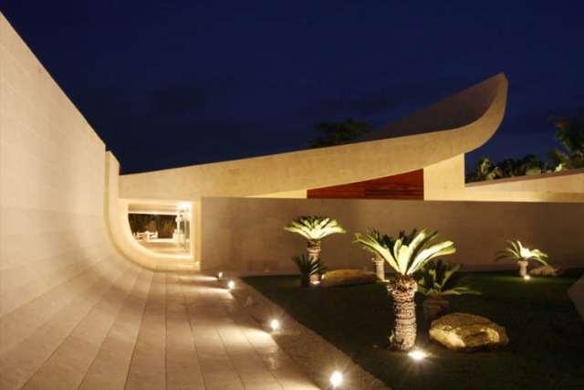 ドミニカ共和国のA-ceroによる大規模なコンクリートの家(29)