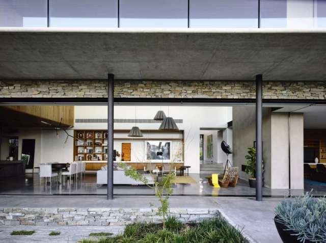 マット・ギブソン・アーキテクチャーがメルボルンのコンクリート・ホームを設計する(8)