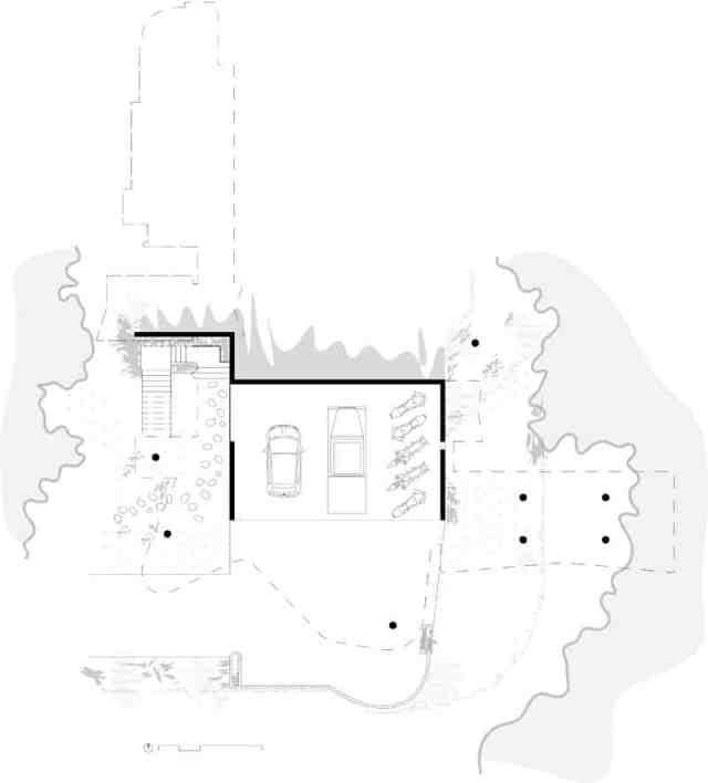 彫刻的コンクリートの美学によって定義されたオーストラリアの熱帯プランコネラハウス(22)