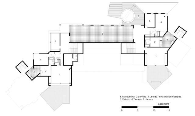 フロアプランブループリン珍しいモダンマンション-ティンゴアンドフェニーハウスバイポンスアルキテクトスバイサントドミンゴのホモティクス(3)