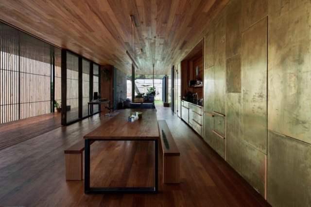 オーストラリアの製材所を定義する記憶を備えた再生コンクリートブロックhomestheticsマガジンの現代住宅(9)