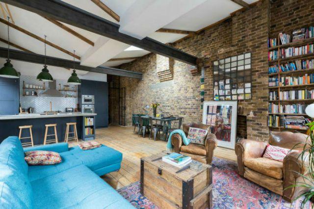 ロンドン倉庫は産業用住宅に変身4