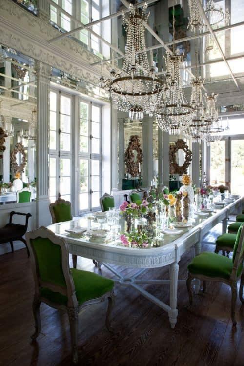 20ダイニングルームテーブル家具のアイデア(3)