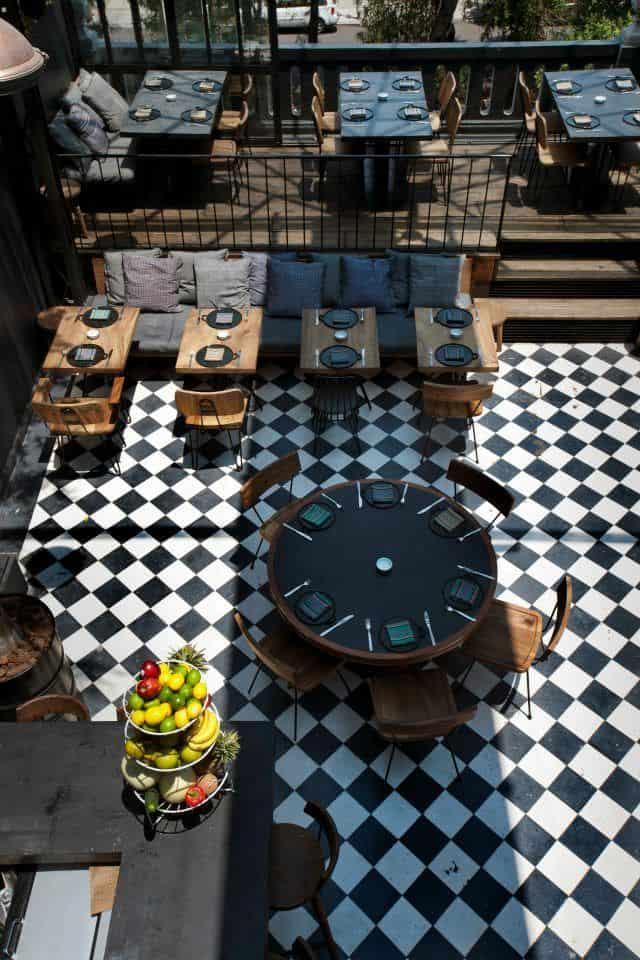 魅力的で人気のある飲食店を作成するために盗むことができる25の興味深いスタイリッシュなレストランのアイデア(4)