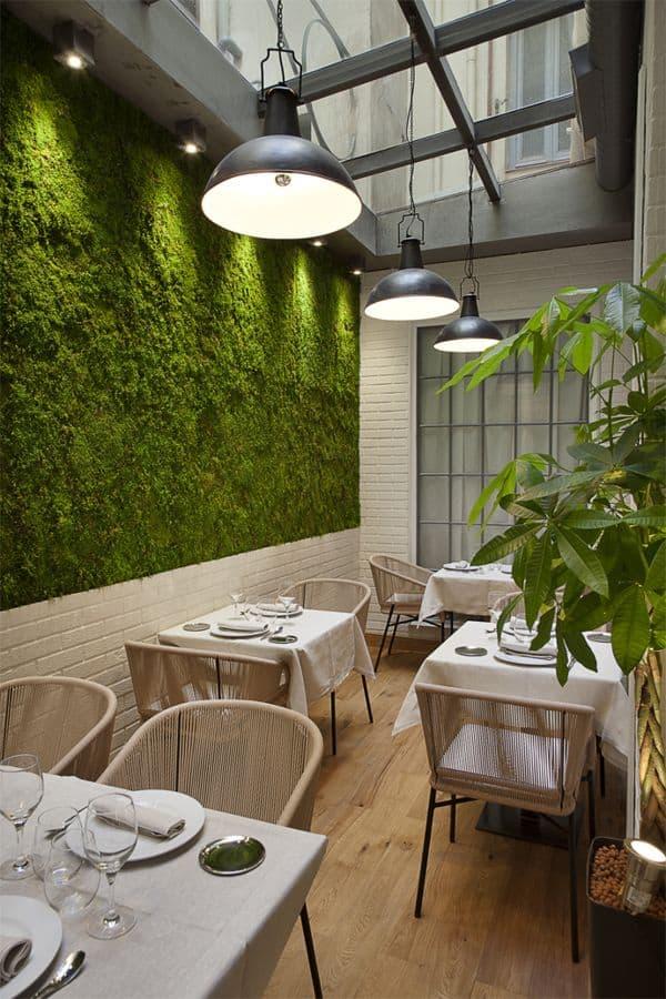 魅力的で人気のある飲食店を作成するために盗むことができる25の興味深いスタイリッシュなレストランのアイデア(9)