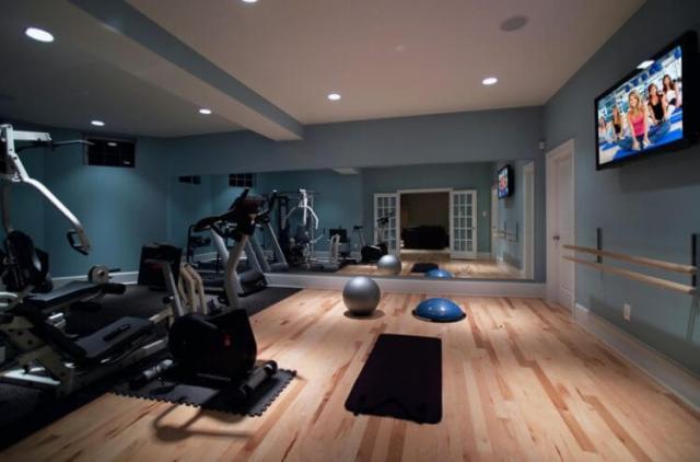 23健康的なライフスタイルのためのベストホームジムルームのアイデア22