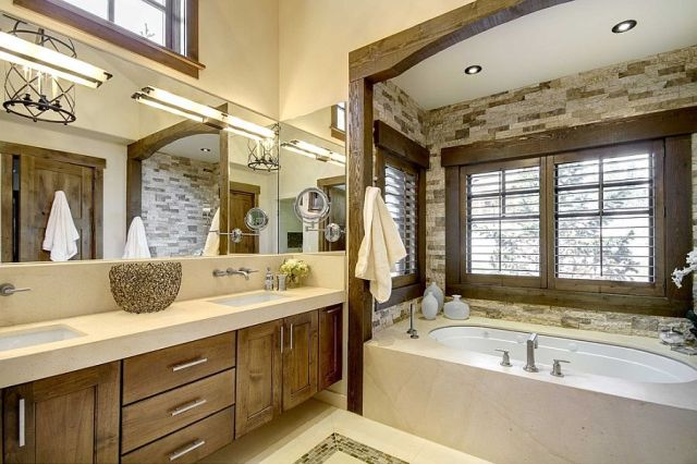27-AD-Custom-bathtub-niche-in-stone-with-a-lovely-wooden-frame