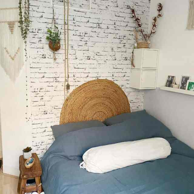 アパート自由奔放に生きる寝室のアイデアtiny_city_flat