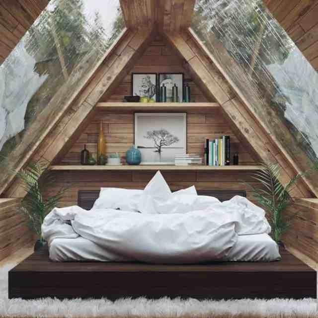 クールなロマンチックなベッドルームのアイデアriya.5