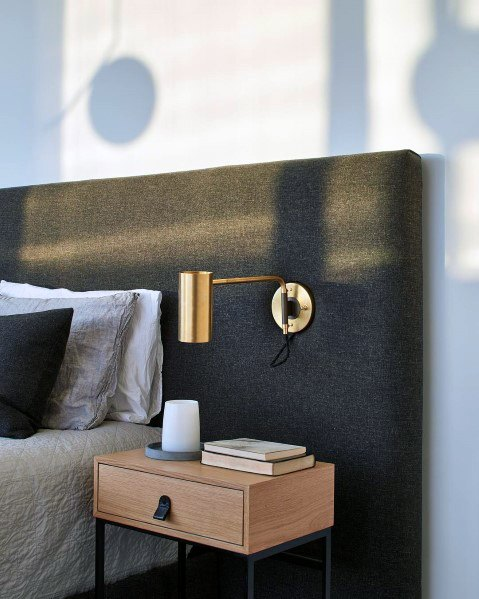 読書灯の寝室の照明のアイデア