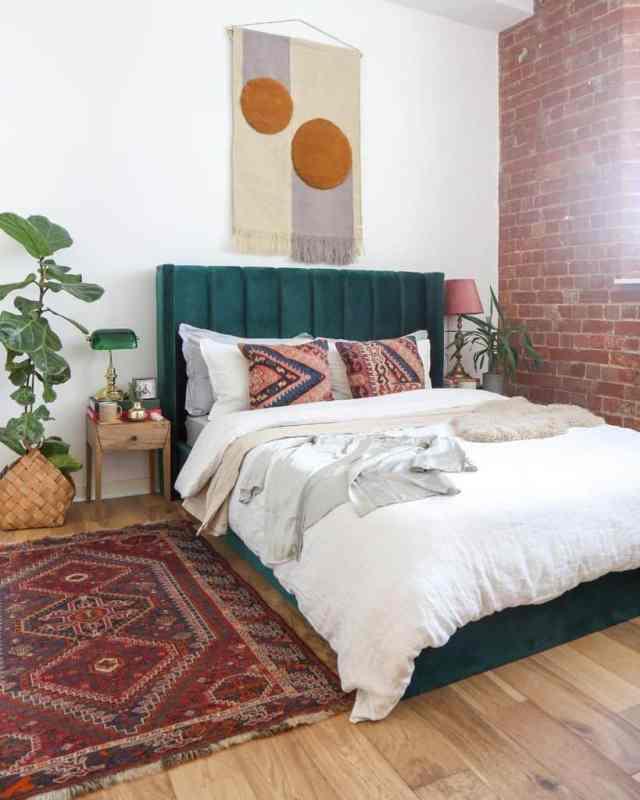 現代の自由奔放に生きる寝室のアイデアセーラーアンドスカウト