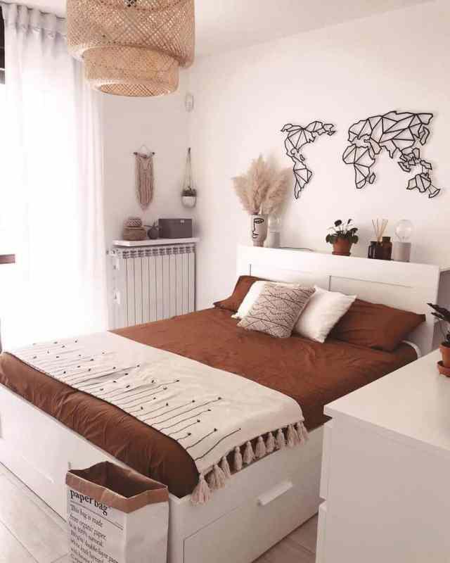 現代の自由奔放に生きる寝室のアイデアsilviazocchi_
