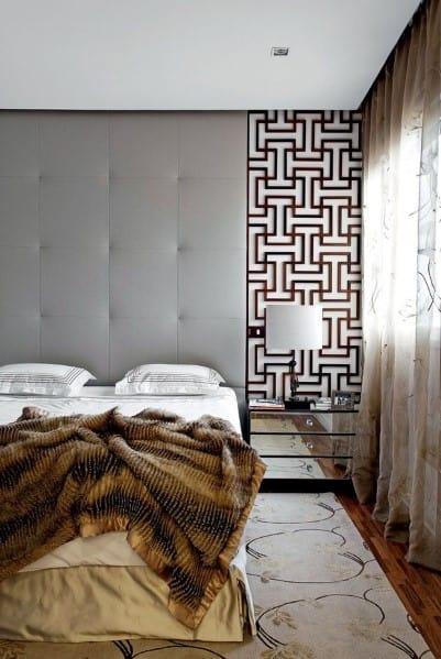 スタイリッシュでモダンなベッドルームのアイデア