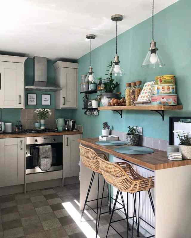 オープンシェルフキッチンの壁の装飾のアイデアelm_terrace_interior