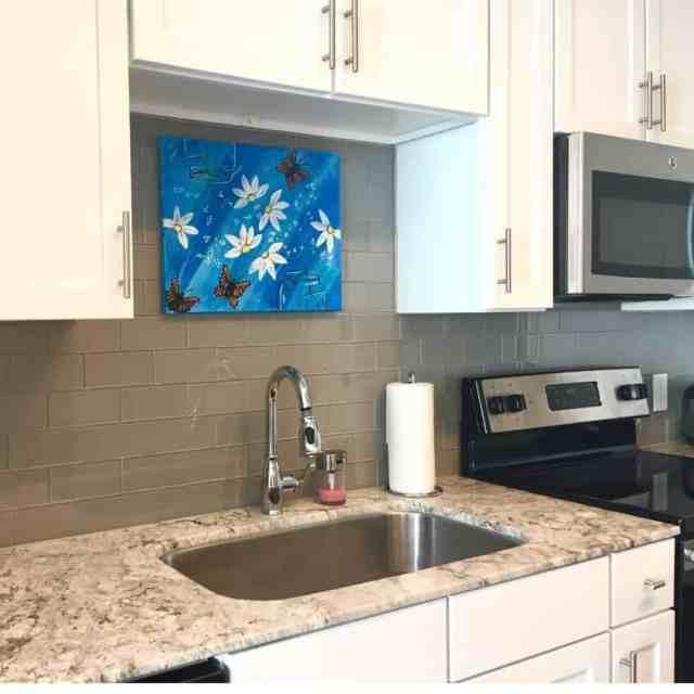 絵画キッチンの壁の装飾のアイデアmadebyyudelin
