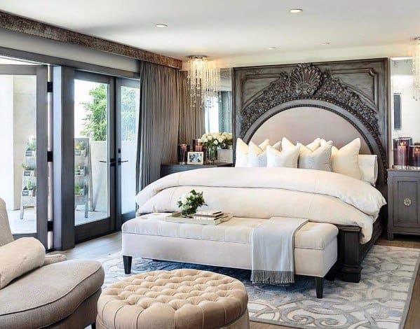 クールな照明寝室の照明のアイデア