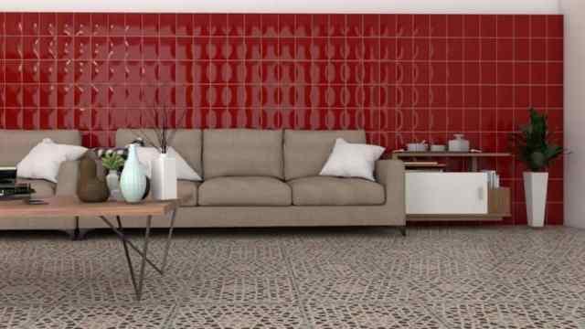 壁のリビングルームの装飾のアイデア
