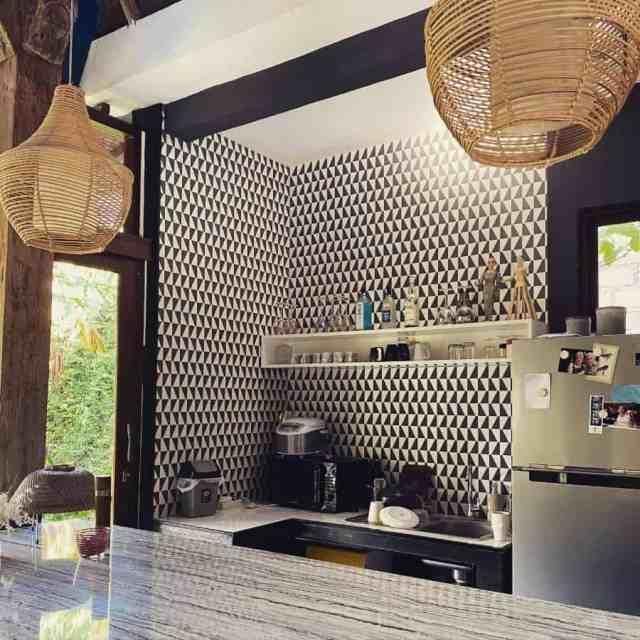 壁紙キッチンの壁の装飾のアイデアhummingbird_wallpaper