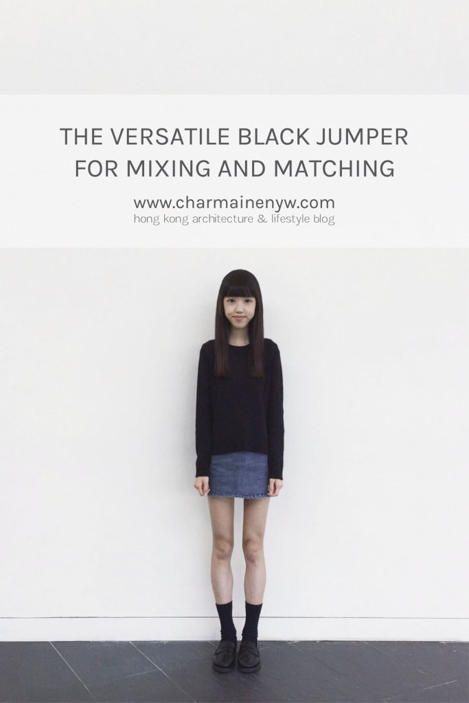 The Versatile Black Jumper for Mixing and Matching