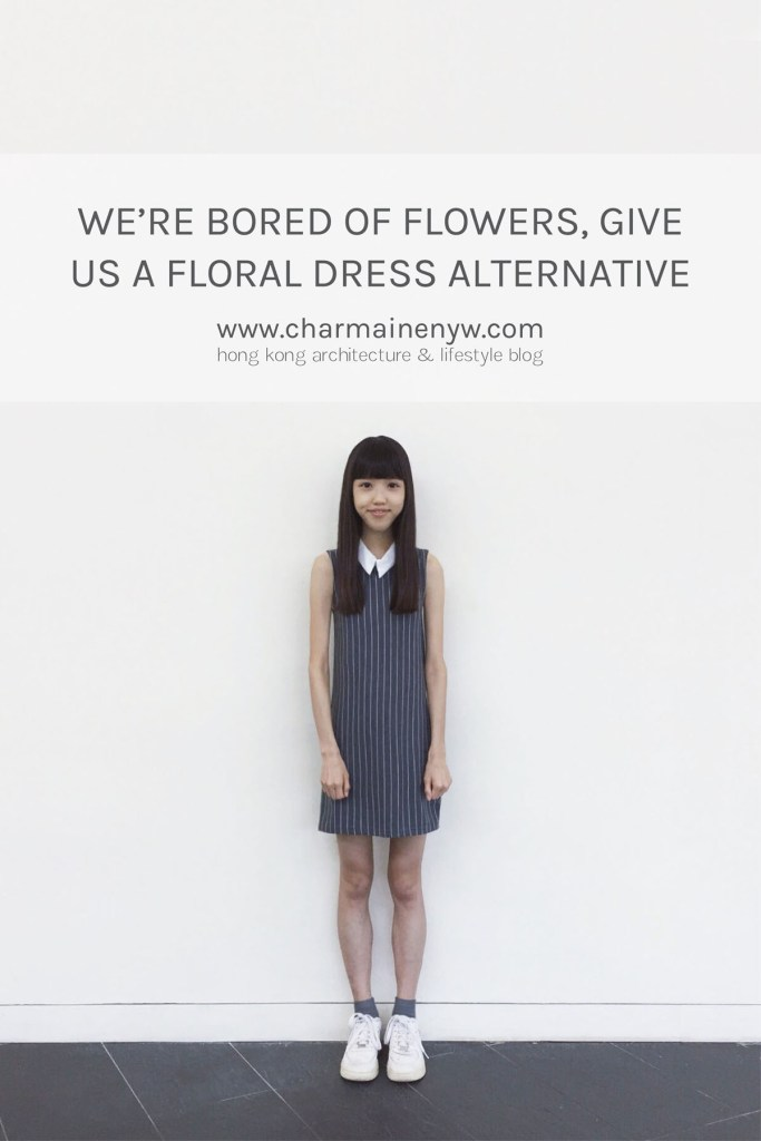 Try the minimal striped dress if you're looking for a floral dress alternative