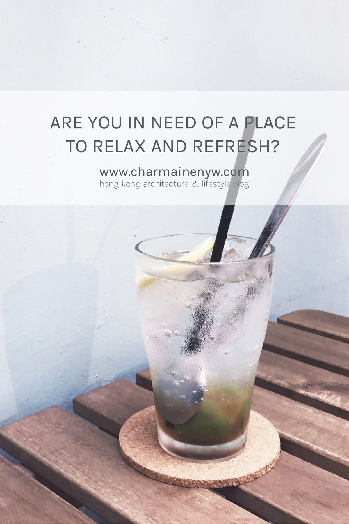 Relax & Refresh in North Point, Hong Kong