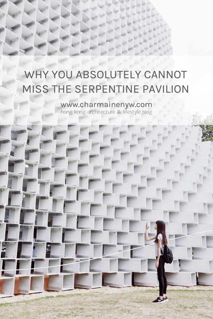 Serpentine Pavilion in London