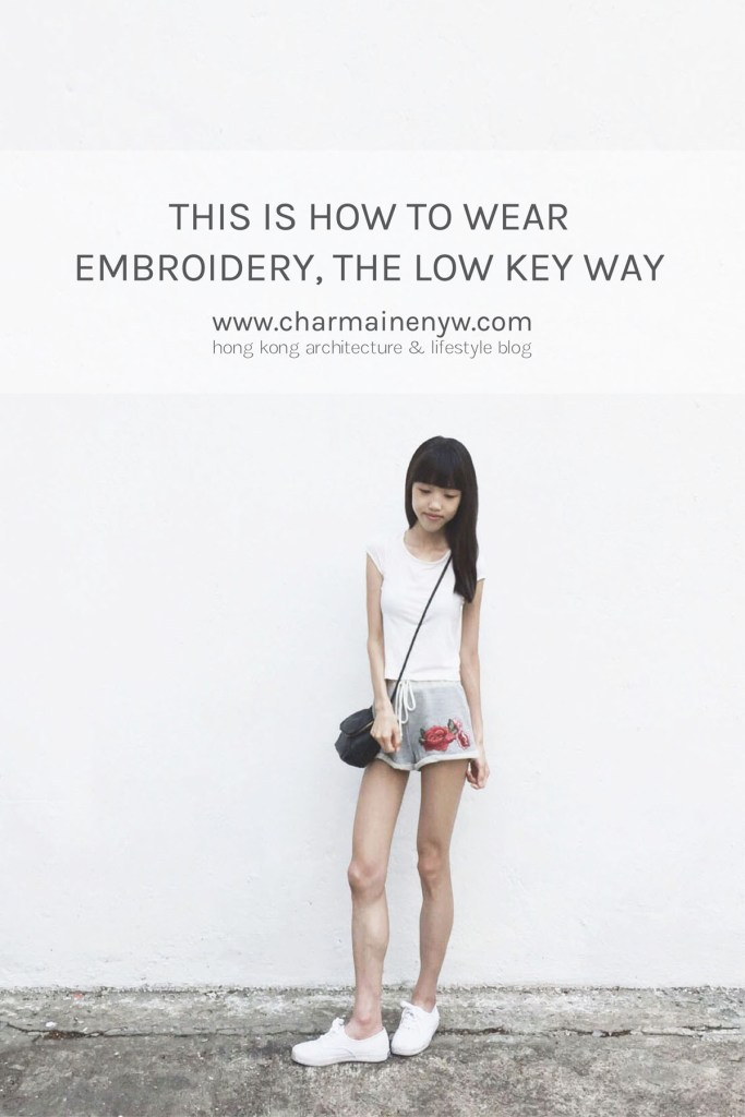 This Is How to Wear Embroidery, the Low-Key Way