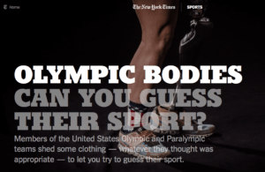 New York Times Olympics Bodies Rio Olympics 2016 feature