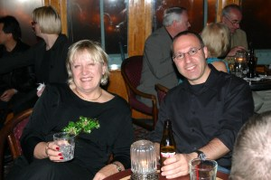 Photo of Marilyn Liebrenz-Himes and Yavuz Kose at CHARM 2005