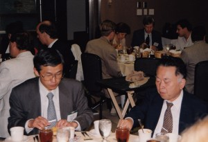 Photo of Meal time at CHARM 1999