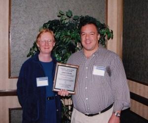 Photo of CHARM 2001 Best Paper Award winner, John Solow