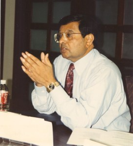 Photo of Jagdish Sheth from CHARM 1991