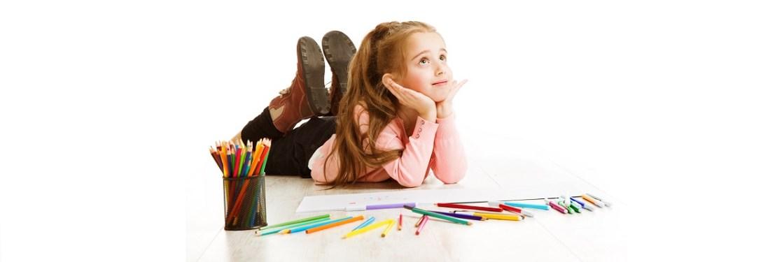 School Kid Thinking Education