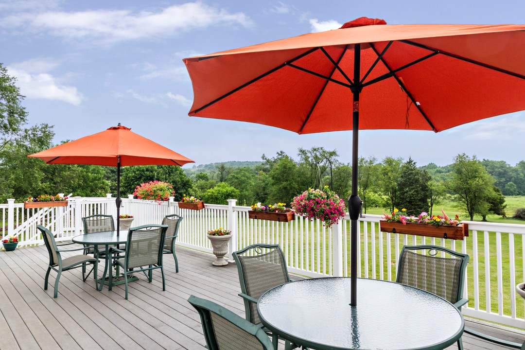Nursing Home Deck in Sykesville MD