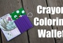 Note Pad Crayon Wallet