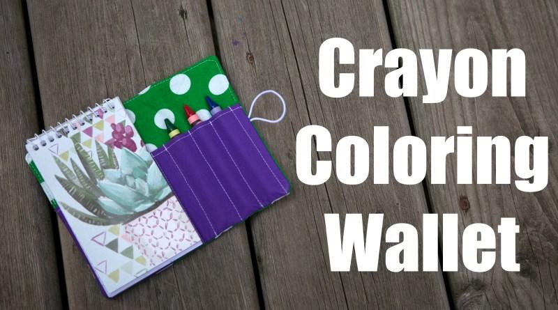 Note Pad Crayon Wallet