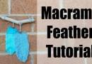Macrame Feather tutorial