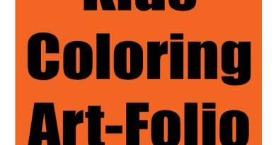 Crayon Art Folio