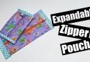 Expandable Zipper pouch