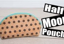 Half moon pouch