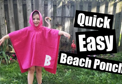 Quick Easy Beach poncho