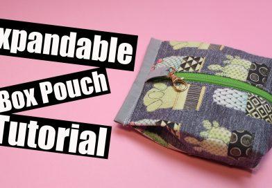 Expandable Box pouch